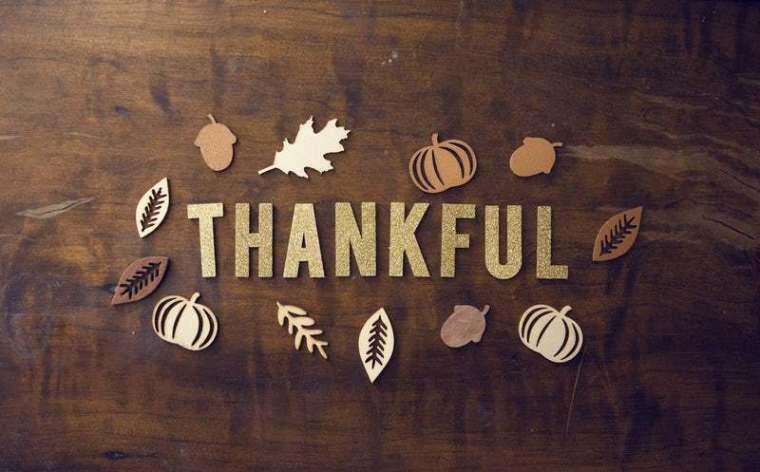 thankful, thanksgiving