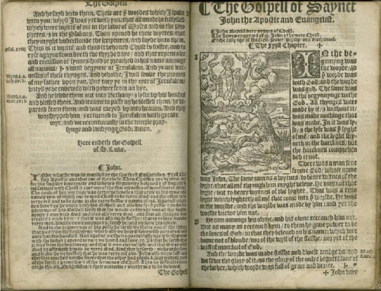 1536 Tyndale New Testament