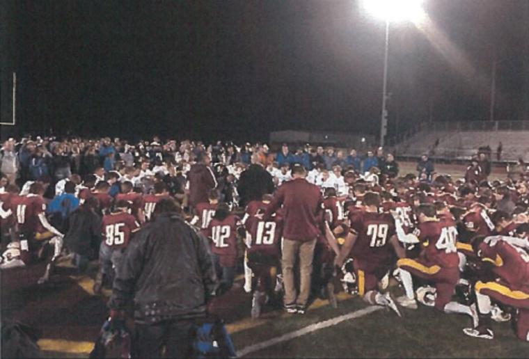 football prayer