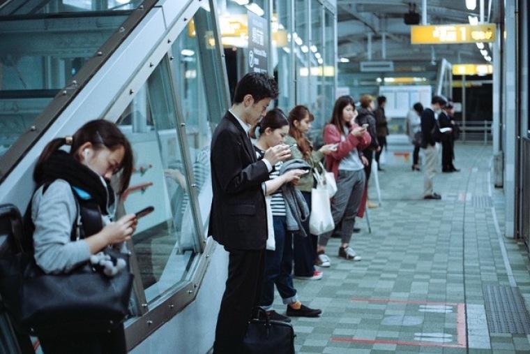 phones, china
