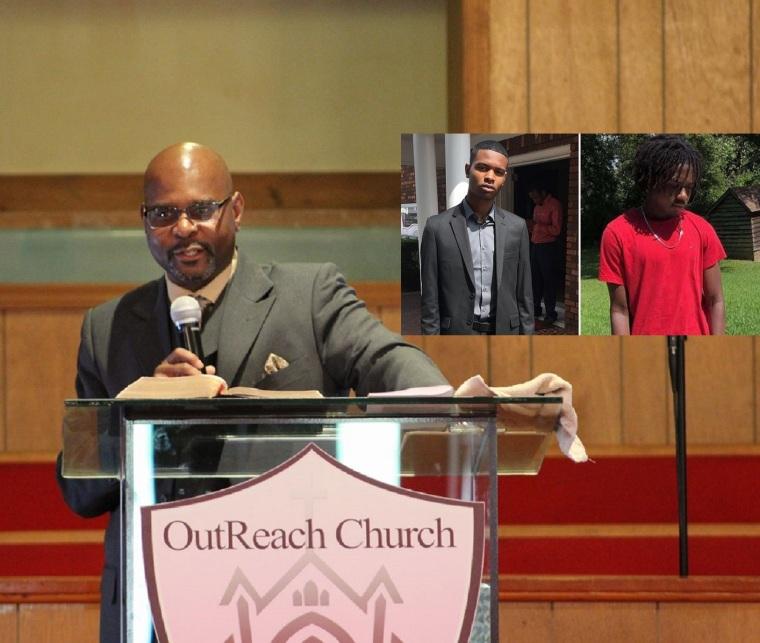 Pastor Kevin Royston, Kahlil Royston, Josh Royston