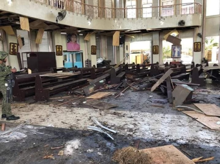 Philippines cathedral attack