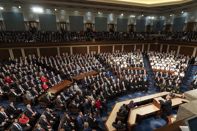 Trump, Congress, state of the union