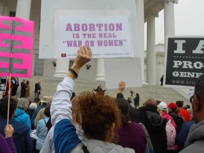 Pro-Life Rally in Virginia