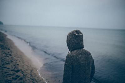 person, sad, alone