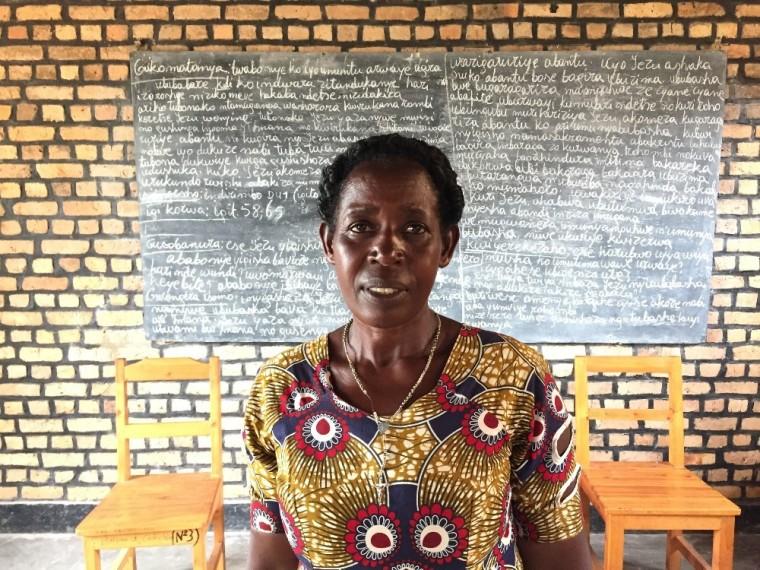 Rwanda genocide survivor