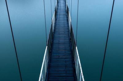 bridge, trial, suffering, hardship