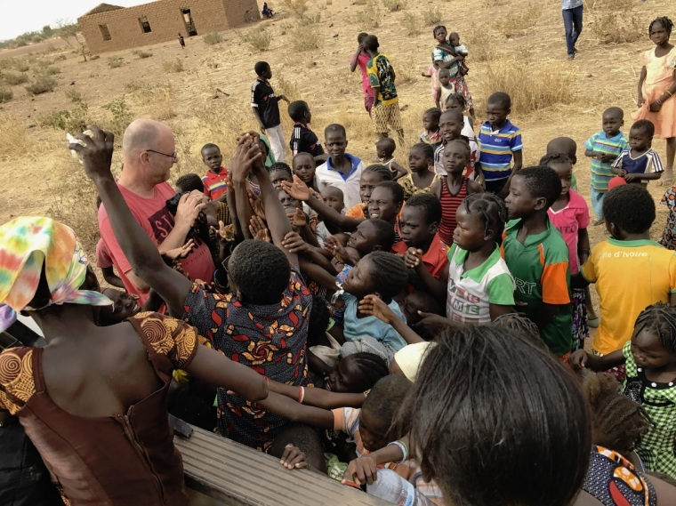 Jeff Riddering in Burkina Faso