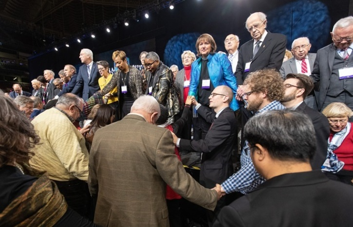UMC found improper voting at General Conference that