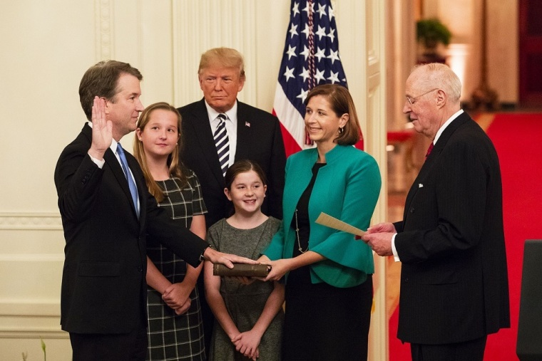 Justice Kavanaugh Cites Roe v. Wade and Planned Parenthood v. Casey When Writing Opinion on 'Erroneous Precedents' in Court Decision About Verdicts