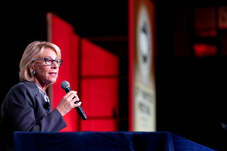 Betsy DeVos Expands Experimental Program Backed by Evangelical Ministry That Helps Inmates Get College Degrees