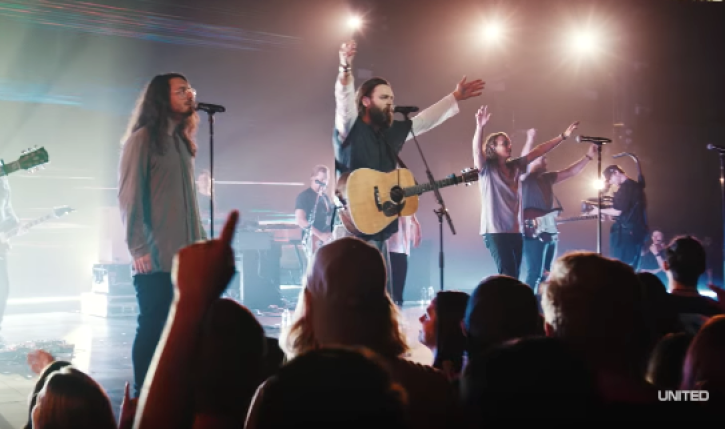 Here are the most popular worship songs played in US