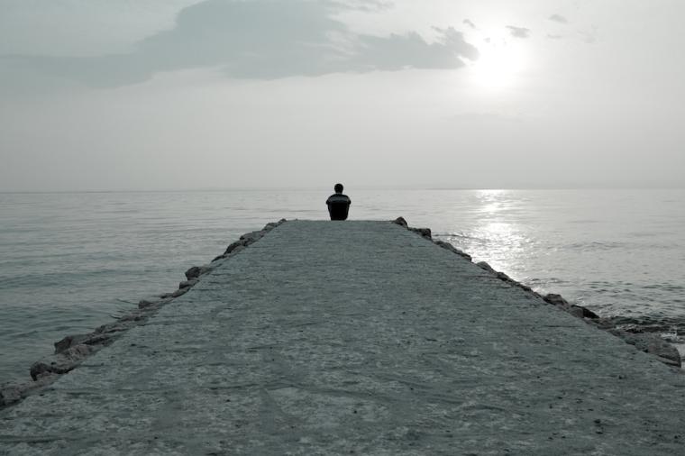 depression, person, alone