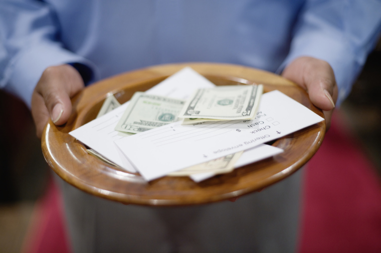 tithe, offering, offering plate