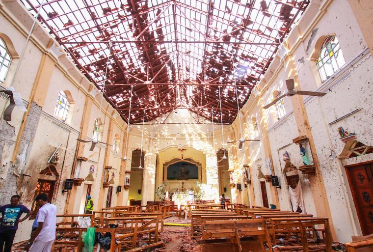 sri lanka church attack