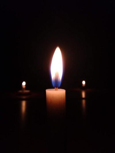 candle light, fire