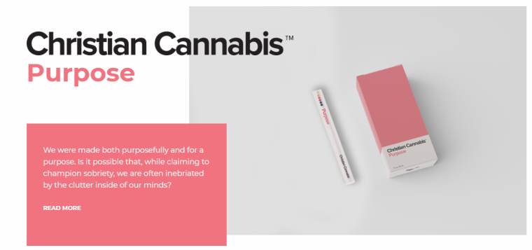 A Christian Cannabis product
