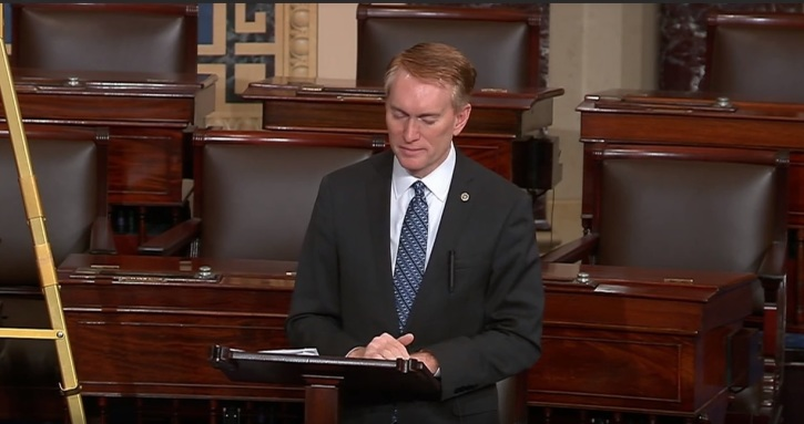 Image result for senator james lankford
