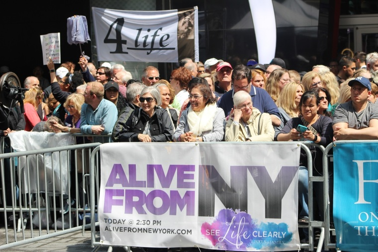 Abortion, Times Square