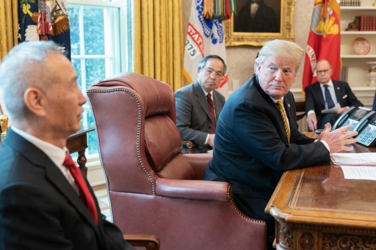 President Donald J. Trump, Chinese Vice Premier Liu He