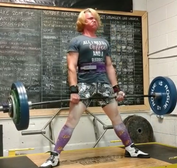 Transgender powerlifter stripped of women's records because