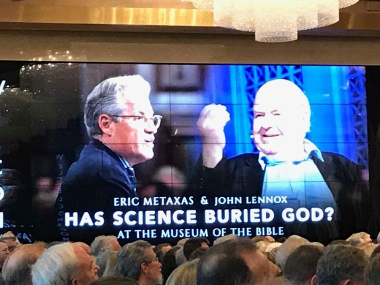 Eric Metaxas and John Lennox