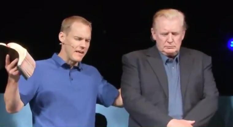 David Platt prays for President Trump