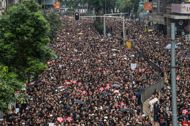 CHRISTIAN POST FEATURE Christian songwriter releases song in solidarity with Hong Kong protesters