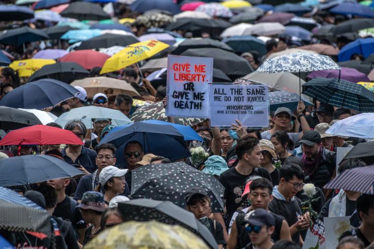 hong kong protest