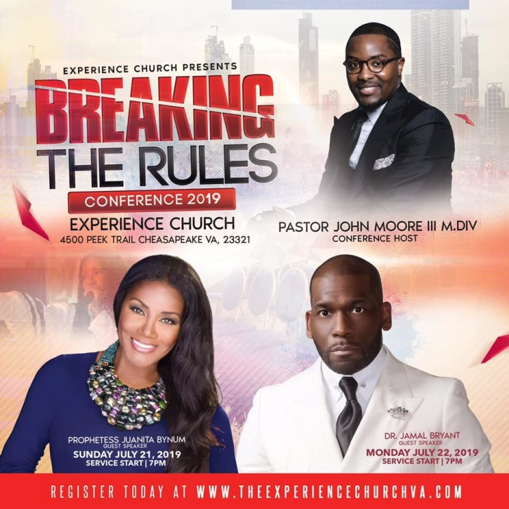 Image result for Evangelist Juanita Bynum has recently taken to her Facebook page to clear the air on the controversy that affected her performance at The Experience Church in Chesapeake, Virginia.
