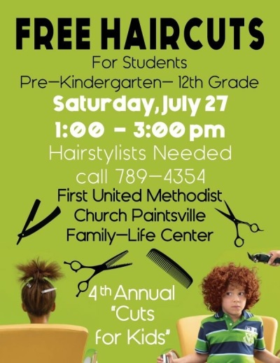 Kentucky church gave free haircuts to kids for upcoming ...