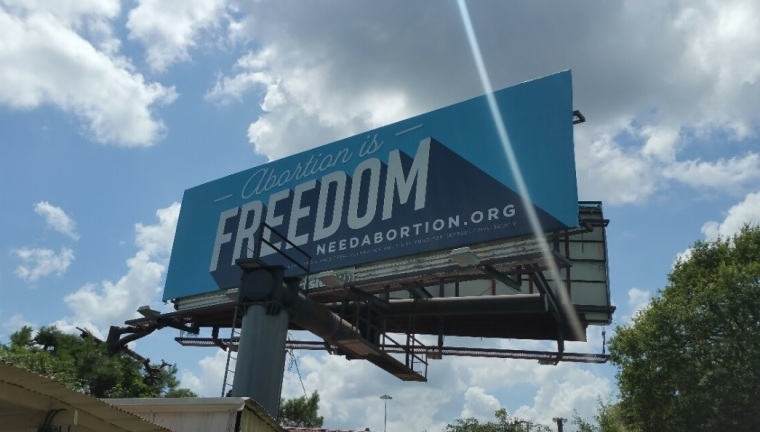 Pro-Choice Billboard