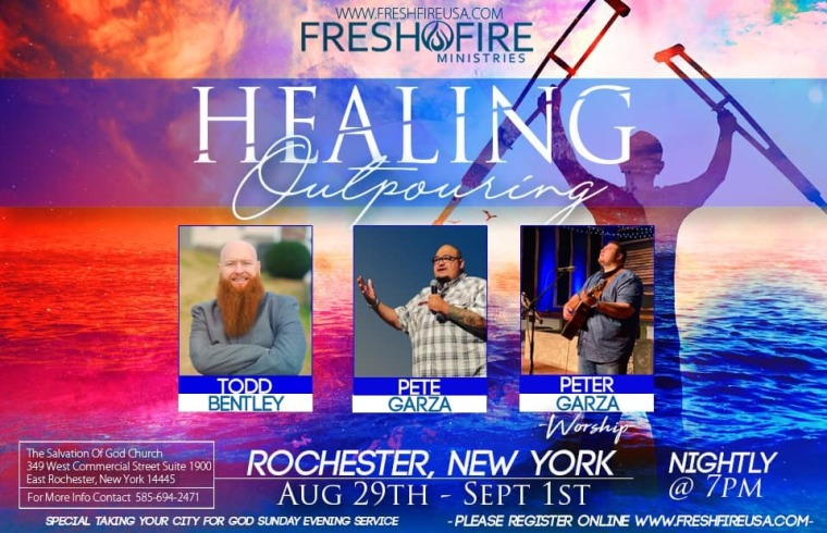 Healing Outpouring, Todd Bentley