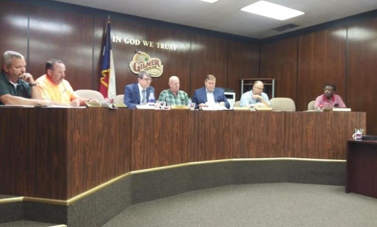 Gilmer City Council