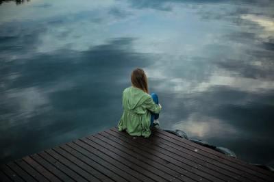 alone, person, sad, depressed