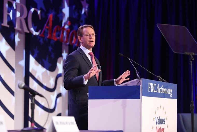 Tony Perkins Says Churches Who Are Still Having In-Person Gatherings Amid Coronavirus Pandemic Are Engaging in 'Defiance of Common Sense'