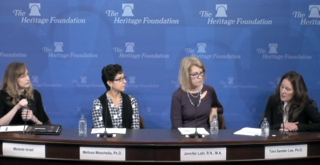 Bioethics panel at The Heritage Foundation