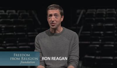 ron reagan, freedom from religion foundation