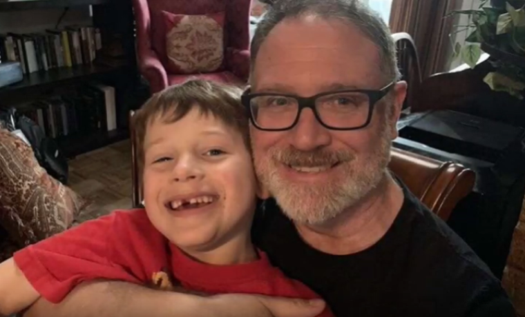 James Younger with father Jeffrey