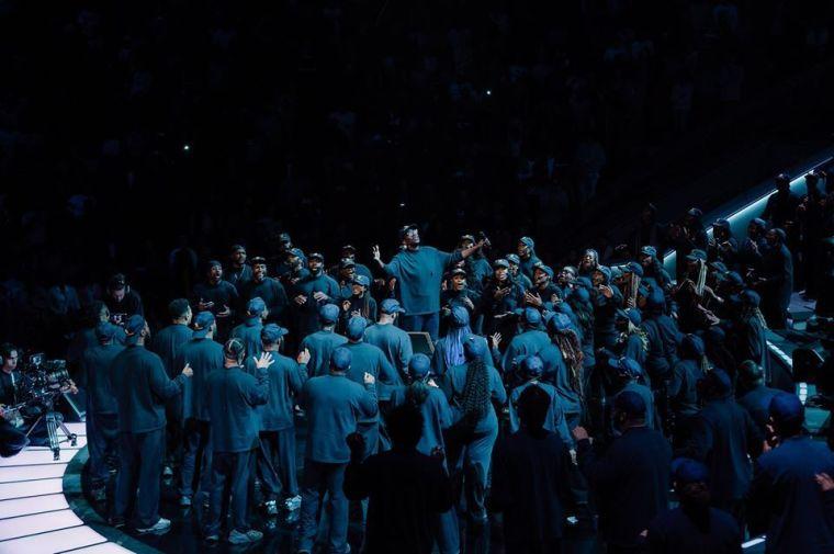 Lakewood Church, Sunday Service, Kanye West, Choir
