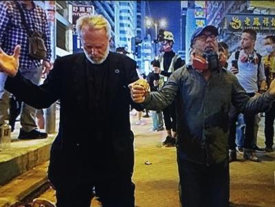 Devlin and Mahoney in Hong Kong