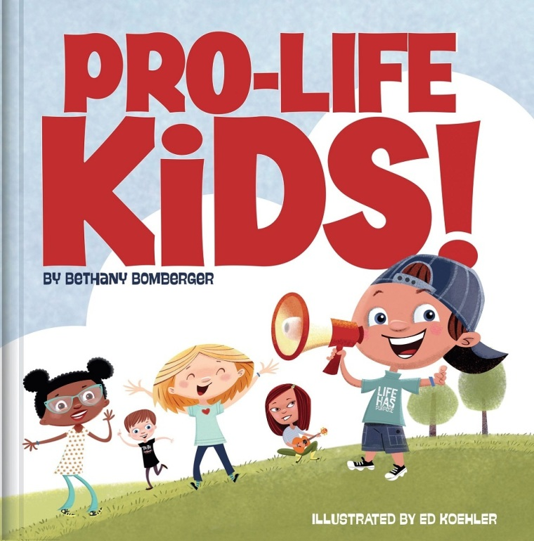 137437 w 760 769 - New children's book refutes 'lie' of abortion, encourages kids to stand for life