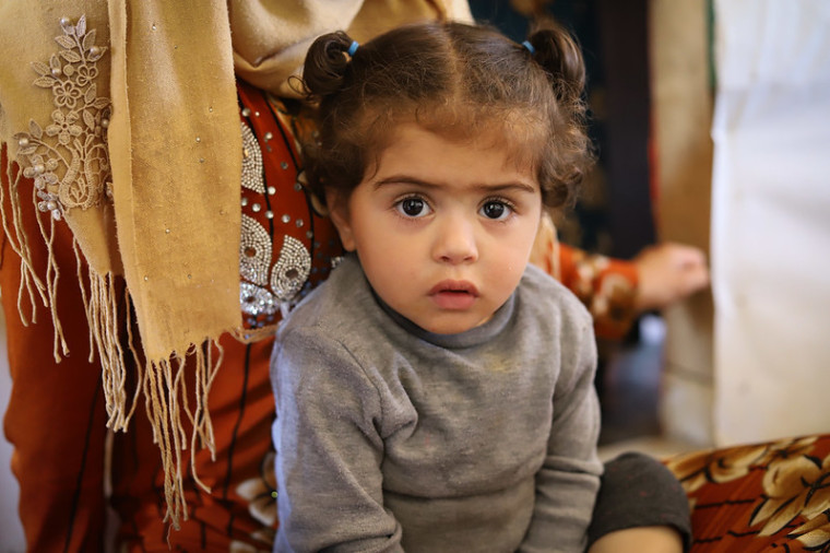 Syrian girl, Zahle, Lebanon