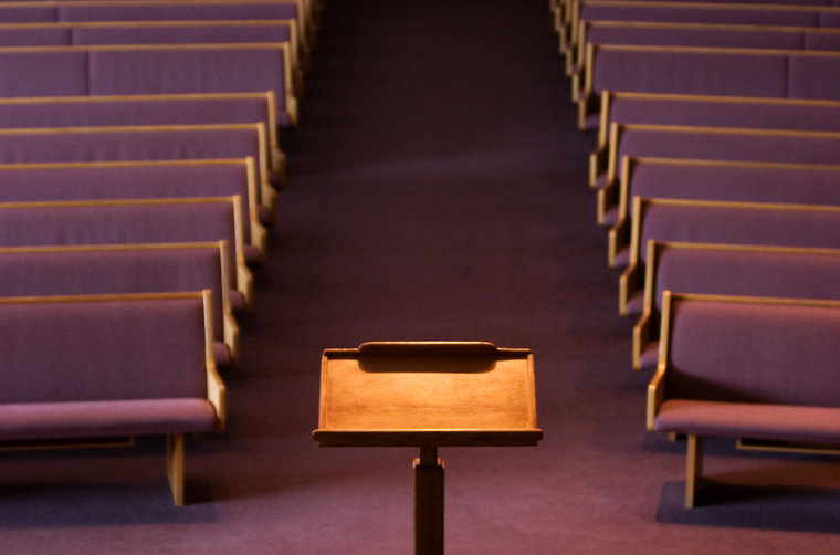 pulpit, church