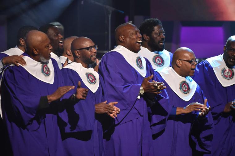 The NFL choir