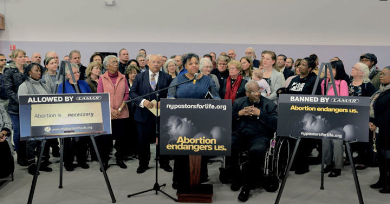 Black abortion ad censorship