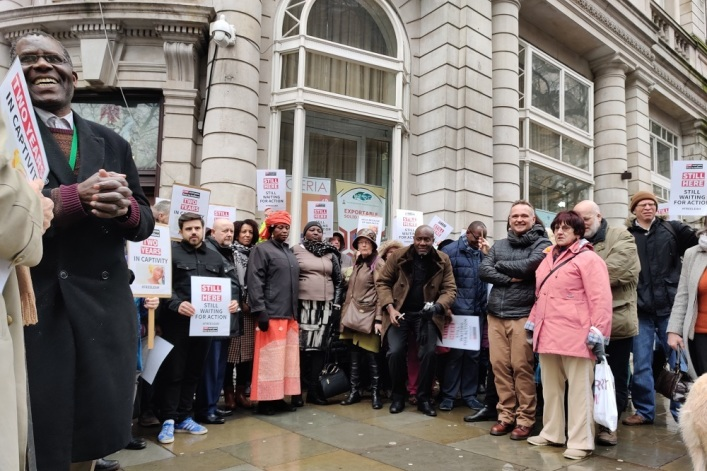 Leah Sharibu protest