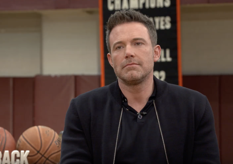 WATCH: Ben Affleck Opens Up About Finding Christianity 'Later in Life', Struggles With His Faith, and Finding Beauty in 'That We Are All Sinners' in Need of Forgiveness