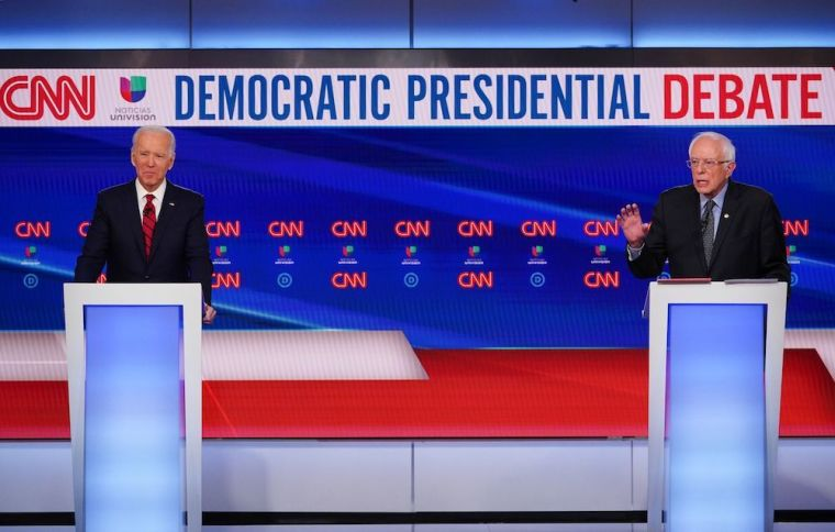 biden, sanders, democratic debate