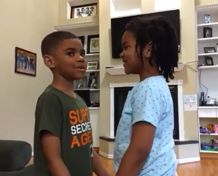 WATCH: 6-Year-Old Girl Teaches Autistic Brother 2 Timothy 1:7 to Help Calm Him Over Coronavirus Pandemic